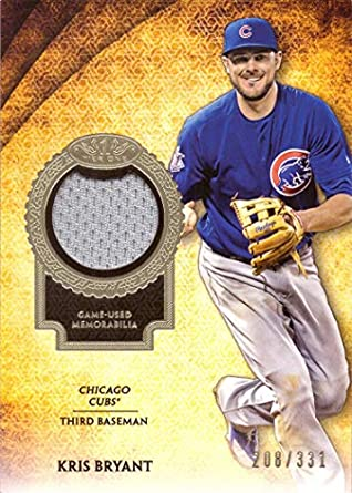 size 40 33451 8bc77 Amazon.com: 2017 Topps Tier One Relics #T1R-KB Kris Bryant ...