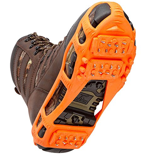 STABILicers Stabilicers Lite Ice Cleats,Orange,M (7.5-10 Mens / 8.5-12 Womens)