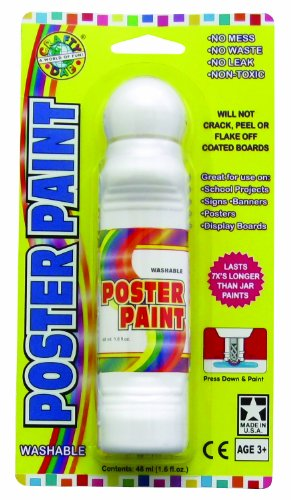 Crafty Dab Poster Paint - White