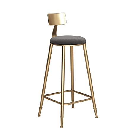 Awesome Amazon Com Oug Gold Bar Stool High Stool Comfortable Dailytribune Chair Design For Home Dailytribuneorg