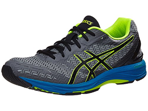 ASICS-Mens-Gel-DS-Trainer-22-Running-Shoe-CarbonBlackSafety-Yellow-85-M-US
