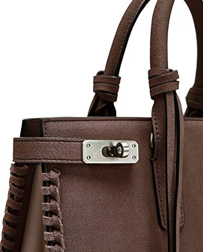 Zara Damen Citytasche mit zierfädelung 1026/304