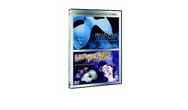 Pack: El Fantasma De La Opera + El Amor Nunca Muere Los Musicales DVD: Amazon.es: Ramin Karimloo, Sierra Boggess, Anna OByrne, Ben Lewis, Ramin Karimloo, Sierra Boggess: Cine y Series TV