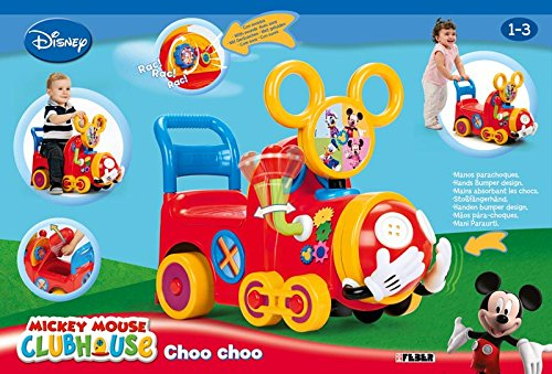 Mickey Mouse Clubhouse Choo Choo Train Amazon Co Uk Toys Games