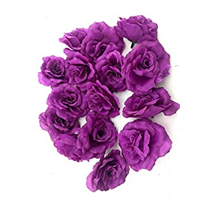 Ifavor123 Bulk 96pcs Pack of Artificial Flowers Roses for DIY Wedding Quinceañera Formal Event Bouquets Centerpieces Party Table Decorations 78