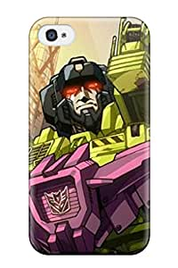 Fashion Tpu Case For Iphone 4/4s- Transformers Defender Case Cover