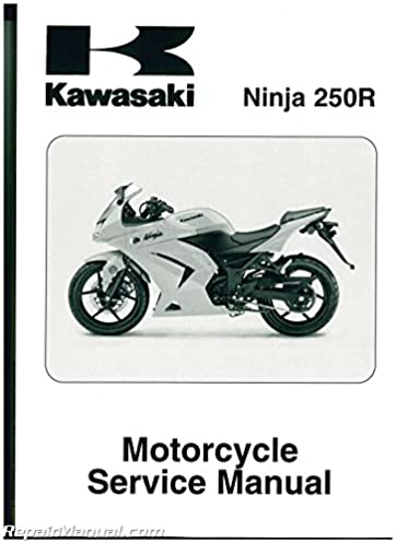 99924 1391 04 2008 2011 kawasaki ex250j ninja 250r service manual rh amazon com 2007 kawasaki ninja 250r owners manual Kawasaki Ninja 1000