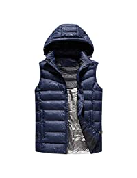 Finetoknow Vest,Electric USB Hoodie Vest,Heating Hoodie Vest, Vest Electric Heated Vest, Intelligence Vest, USB Heated Vest,Winter Outdoor Sports Warm Vest