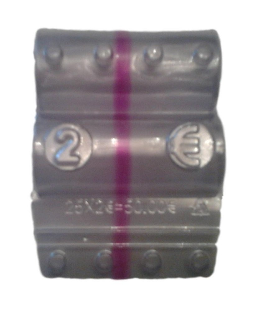 Blister per monete euro - Kit 100 blister portamonete da 2 euro Iternet