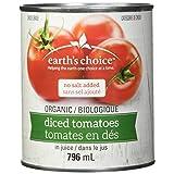 Earth's Choice Organic Diced Tomatoes, 796ml