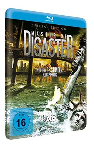 (Master of Disaster Collection (9 Films) - 3-Disc Set ( The Land That Time Forgot / Princess of Mars / 100 Million BC / 2012: Supernova / Meteor Apoc [ NON-USA FORMAT, Blu-Ray, Reg.B Import - Germany ])