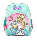 Barbie 30 Ltrs Blue School Backpack (MBE-MAT505)