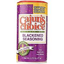 Cajun's Choice Blackened Seasoning, 2.75-Ounce Packages (Pack of 12)