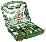 103teiliges Werkzeug-Set Bosch X-line Titanium