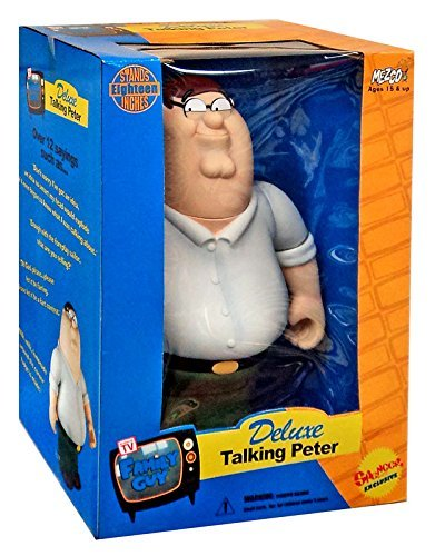 Mezco Family Guy Peter Griffin Exclusive Deluxe Talking Action Figure]()