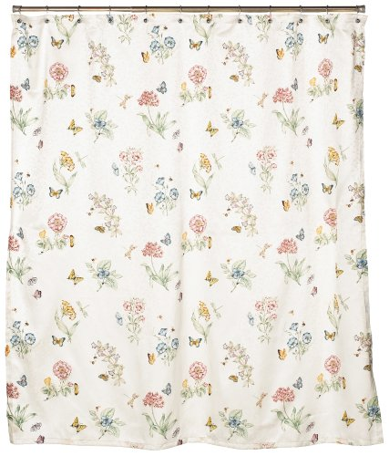 Window Lenox - Lenox Butterfly Meadow Shower Curtain
