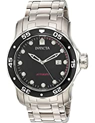 Invicta Mens Pro Diver Automatic Stainless Steel Diving Watch, Color:Silver-Toned (Model: 23630)