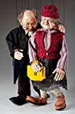Old Couple Czech Marionettes Puppets