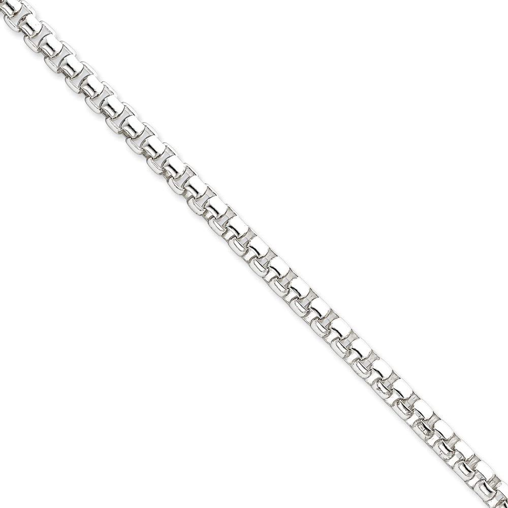 Sterling Silver Curb Chain 3.70mm