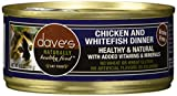 Cheap Dave's Pet Food Chicken and Whitefish Food (24 Cans Per Case), 5.5 oz.
