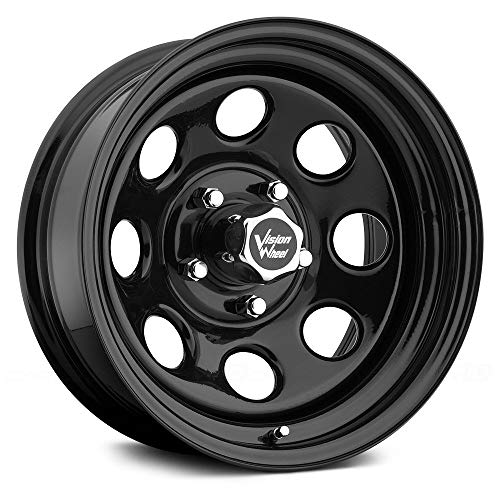 (Vision 85 Soft 8 Black Wheel with Painted Finish (16x8