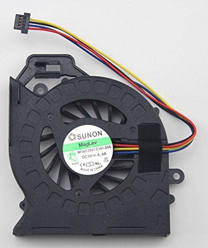(CPU Cooling Fan For HP Pavilion dv7-6000 dv6-6000 Series Laptop MF60120V1-C181-S9A SUNON DC5V 0.4A)
