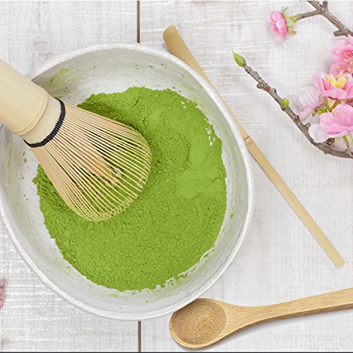 Bamboo Matcha Tea Whisk, Scoop and Small Spoon by MatchaDNA (Image #2)