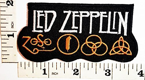 Led Zeppelin Patches (LED-ZEPPELIN Patch Jacket T-shirt Patch Sew Iron on Embroidered Sign Badge Costume)