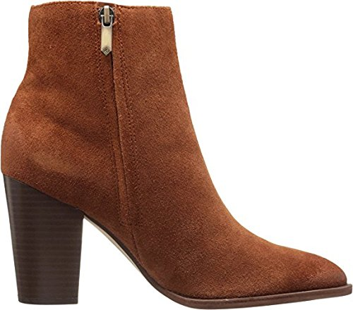 Ankle Velour Bootie Leather Edelman Cinnamon Suede Sam Women's Blake SwtTY