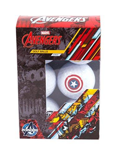 Golf Balls With Logo (Marvel Avengers Golf Balls)