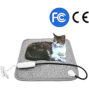 Amazon.com : Pet Heating Pad, Dog Cat Electric Heated