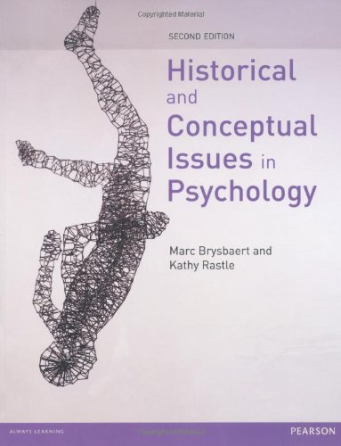 Historical & Conceptual Issues in Psychology