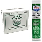 Lucas X-Tra Lithium Grease 14.5 oz. Cartridge (Pack of 10)