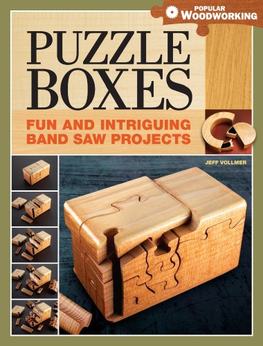 Puzzle Boxes: Fun and Intriguing Band Saw (Puzzle Box Plans)