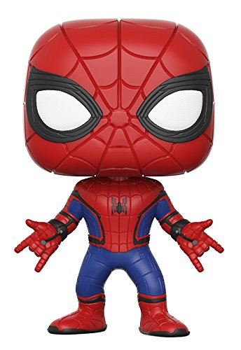 Spider Man New Costumes Comic (Funko POP Marvel Spider-Man Homecoming Spider-Man New Suit Action Figure)