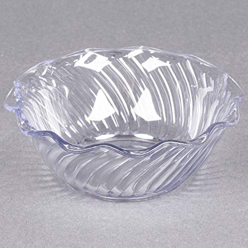 TableTop King 453307 Clear 13 oz. Tulip Berry Dish - 24/Case