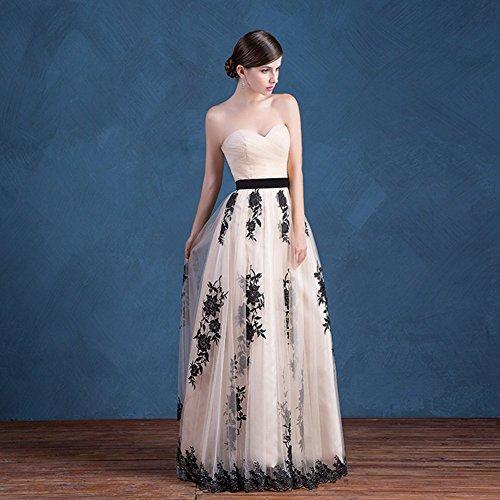 Lace Sweetheart Appliques Bridal Blue Long 2016 Tulle Prom Aurora Sky Dress TIaqga