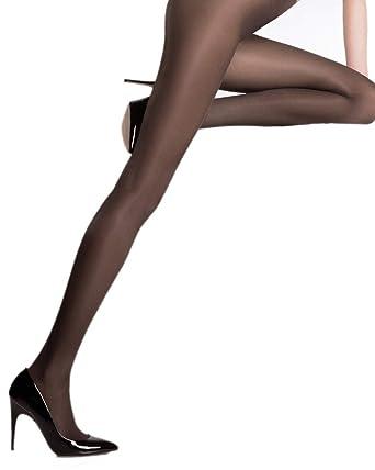 24c8d0df4 Pierre Mantoux Eclatant 40 Tights-Nero-Small I  Amazon.co.uk  Clothing
