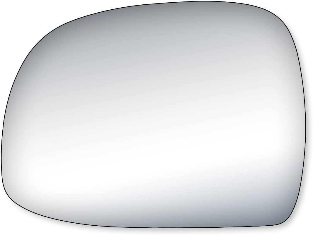 Fit System 99054 Driver//Passenger Side Replacement Mirror Glass