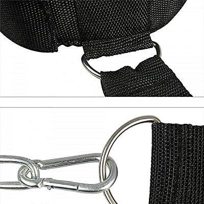 Cinturón ajustable con arnés para la cabeza y cadena para colocar ...