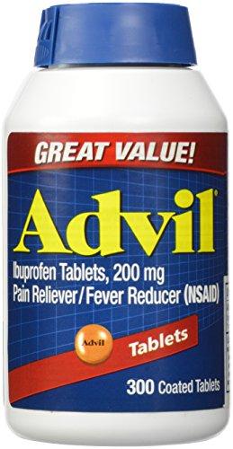 Advil tabletas (ibuprofeno) 200 mg, comprimidos recubiertos 300
