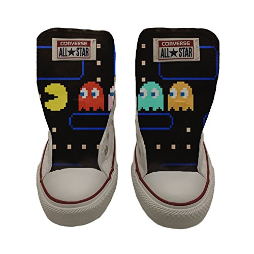 Converse All Star Chaussures Coutume (produit artisanal) Slim Pacman