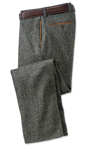 Orvis County Donegal Tweed Pants, Charcoal, 40W X 35 L