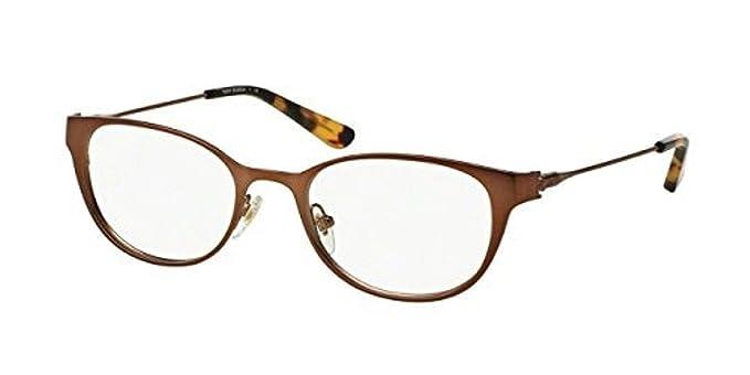 edd7581648 Tory Burch TY1050 Eyeglass Frames 3169-51 - Satin Bronze tokyo Tort  TY1050-3169-51 at Amazon Women s Clothing store