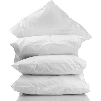 Amazon Com 4 Pack Hotel Sleeping Pillows 100