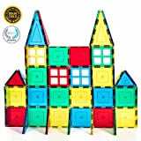 Magnetic Stick N Stack 60 piece Magnetic tiles Starter set With 4 Windows (view all photos)