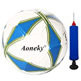 Aoneky Office Size 5 Soccer Ball for Kids Aged 8+ Years Old