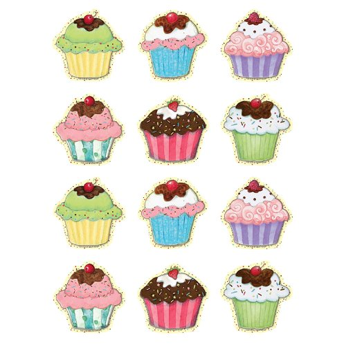 Teacher Created Resources SW Cupcakes Mini Accents (5128)