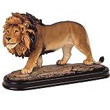 StealStreet SS-G-11447 Lion Collectible Wild Cat Animal Decoration Figurine Sculpture Model