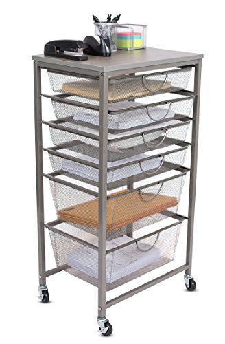 Internetu0027s Best 6 Tier Rolling Cart Organizer ...